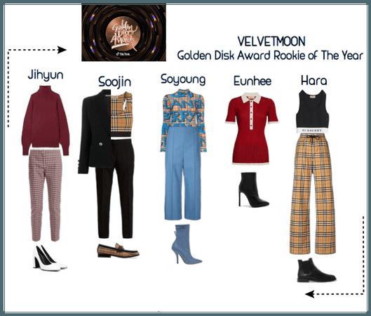   VELVETMOON   Golden Disk Award Acceptance/Carpet
