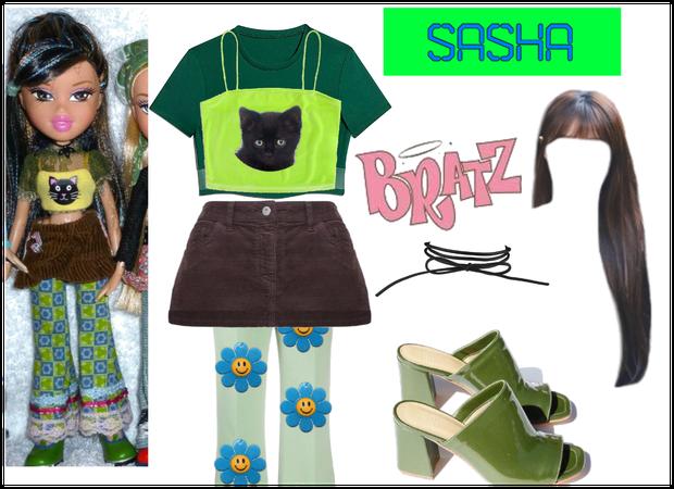 Sasha Bratz Character Outfit