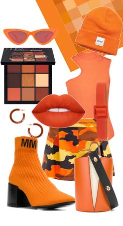 Blurry Orange