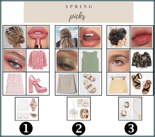 Spring Picks 1