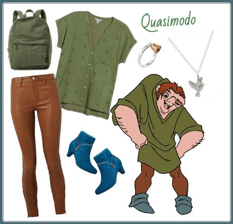 Quasimodo outfit - Disneybounding