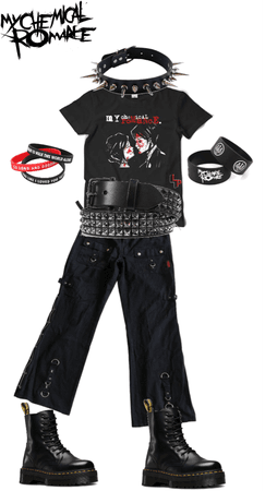 MCR Band Challenge outfit