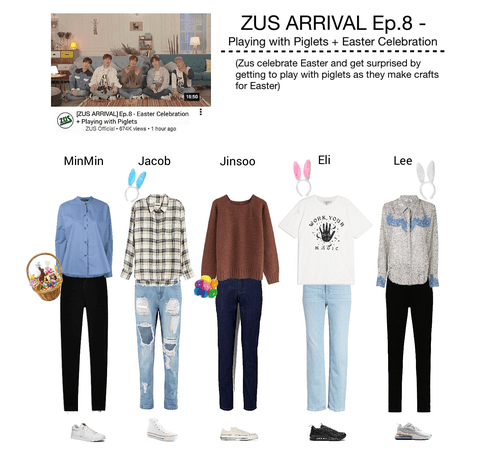 ZUS ARRIVAL Ep. 8 - Easter & Playing with Piglets