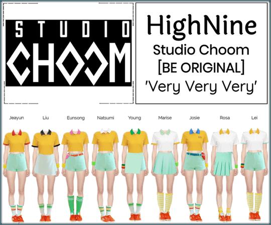 "HighNine (하이 나인) [Studio Choom] ""Very Very Very"""