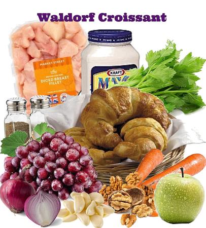 Waldorf Chicken Croissant