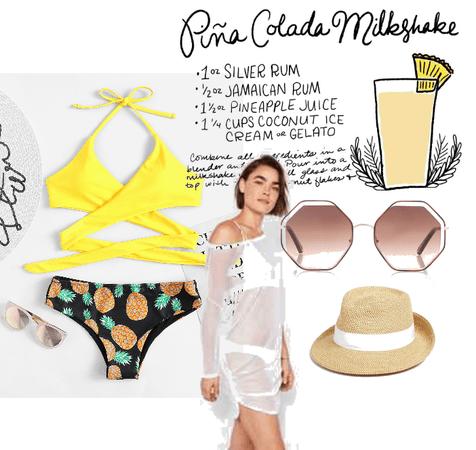 Pina Colada Milkshake