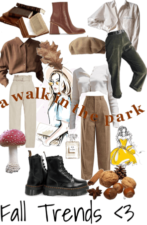 • fall trends • a walk in the park •