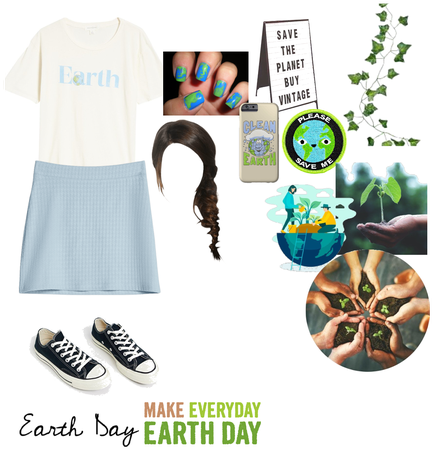Earth Day Challenge Outfit