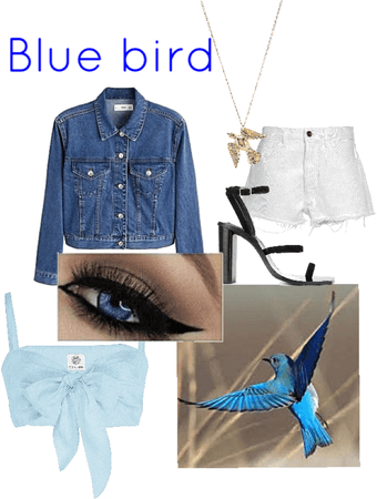 blue bird inspired