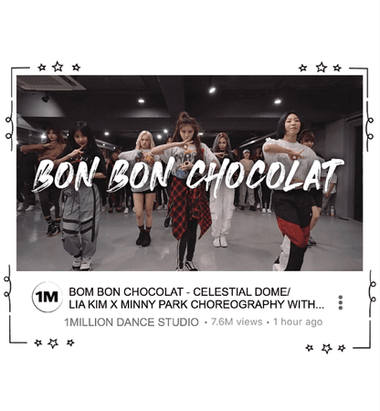 BON BON CHOCOLAT- CELESTIAL DOME DANCE AT 1 MILLION STUDIO