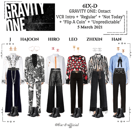 6IX-D [식스디] Gravity One: Ontact 210305