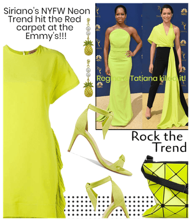 Siriano's Neon Trend & The Emmy's