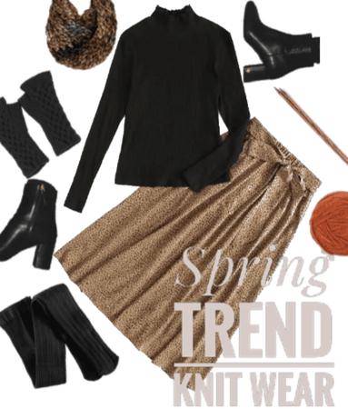 Spring trend :Knit Wear