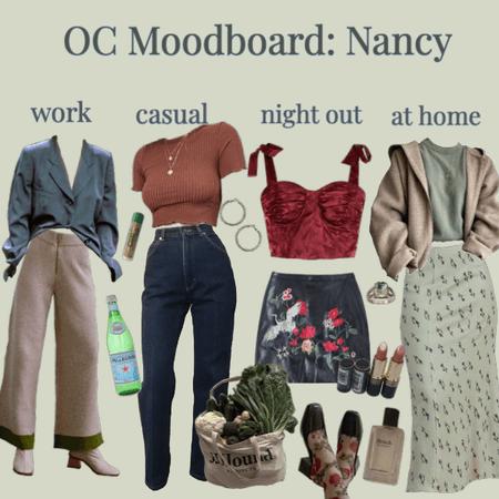 OC Moodboard: Nancy