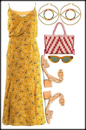 Summer essential yellow
