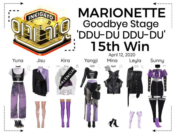 MARIONETTE (마리오네트) [INKIGAYO] Goodbye Stage