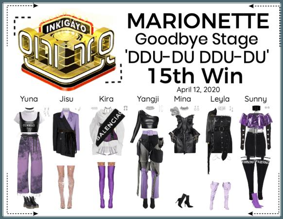 MARIONETTE (마리오네트) [INKIGAYO] Goodbye Stage