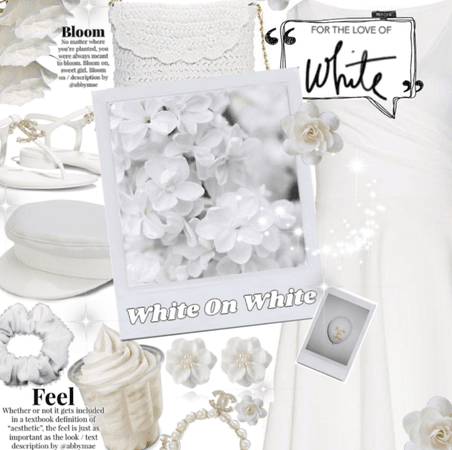 White in qhite