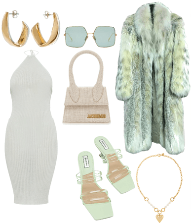 sage green outfit
