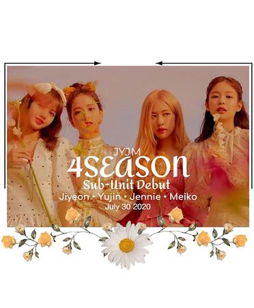 -4SEASON- Sub-Unit Debut