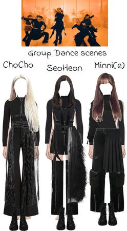 ChoCho, SeoHeon & Minni Group dance scene   FIRST MV