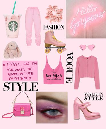 pink girly
