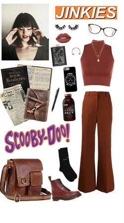 jinkies - scooby doo gang (Velma)