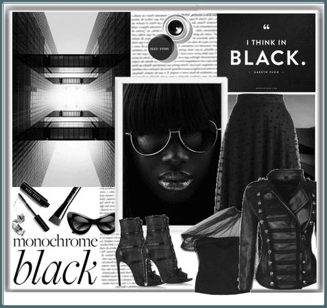 Monochrome: All Black Everything