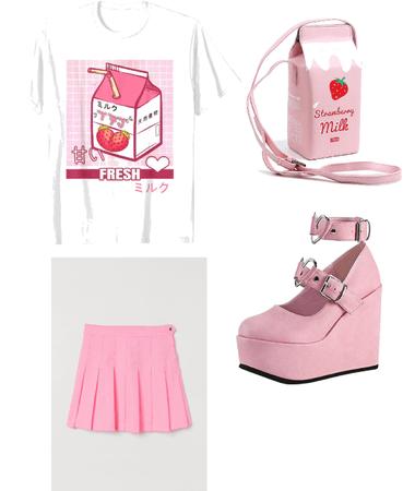strawberrry milk