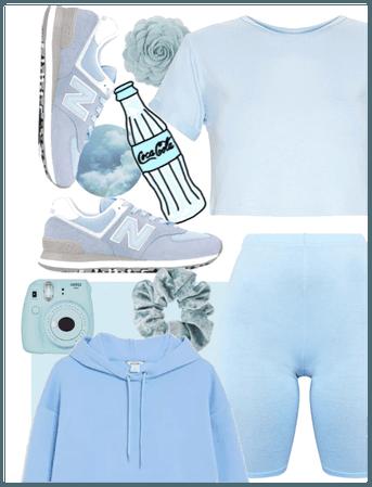 Baby Blue - Comfy