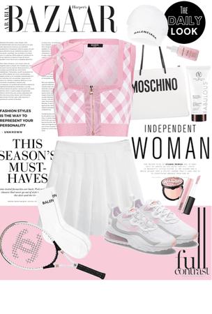 Pink Tennis
