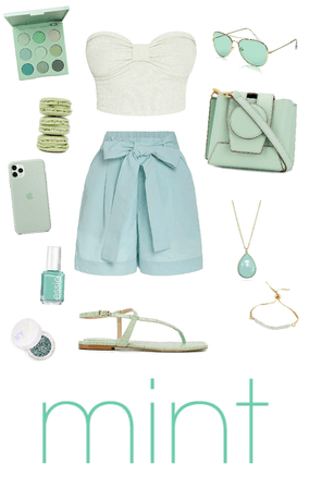 Muted Pastel Style: Mint