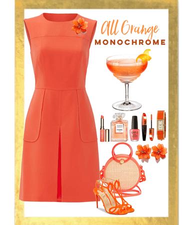 Orange Monochrome Challenge