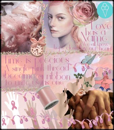 # Cancer awareness month # Shoplook # Pink ribbon