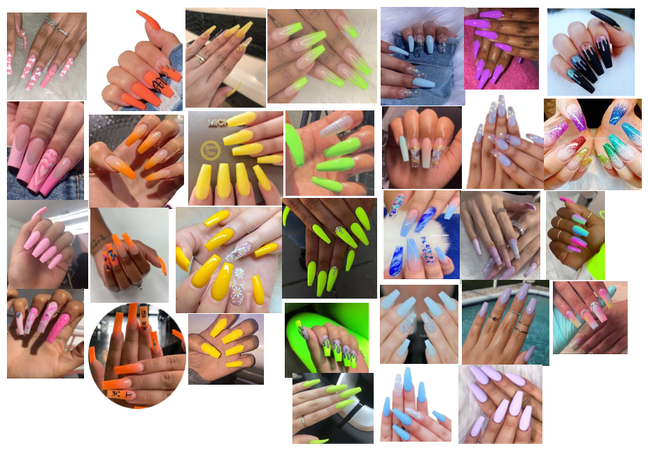 all type of nails