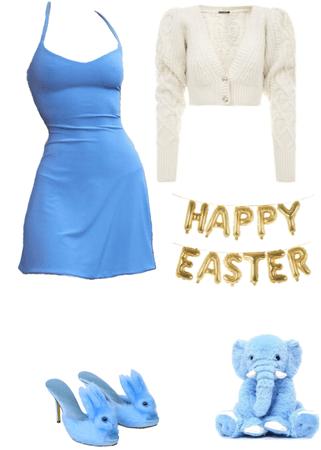 Blue Bunny Heels