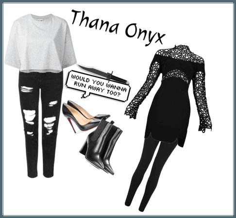 Thana Onyx (Wattpad Character)