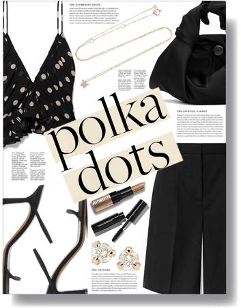 black polka 🖤