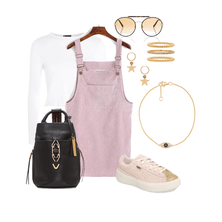 falling for pink street style