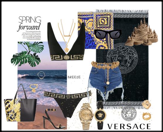 Versace Beach Day