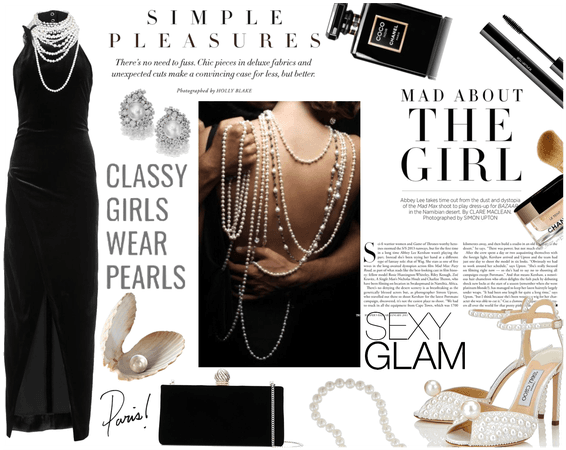 Pearls are a girl's best friend