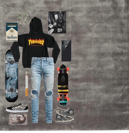 Skinny Skater Boy Niche