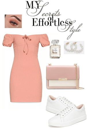 Simple Pink Summer Dress