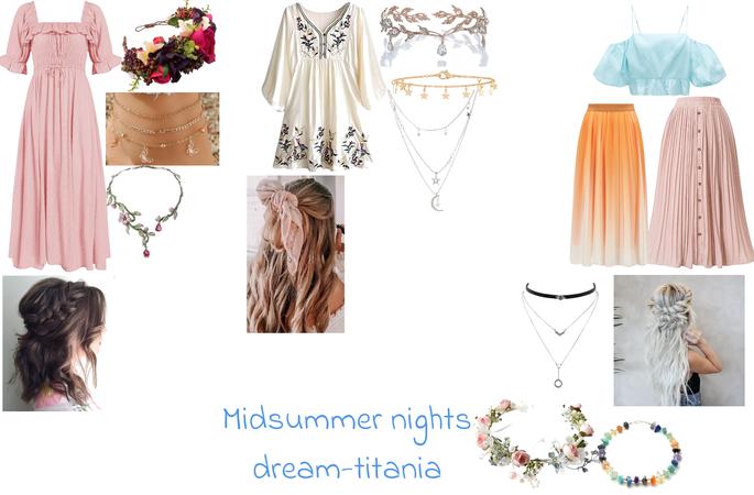 midsummer nights dream Titania