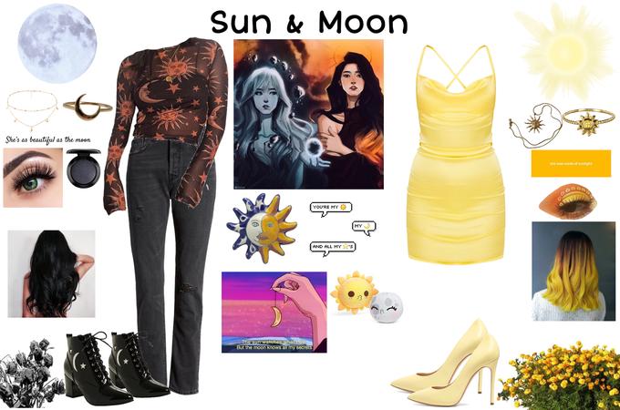 Sun & Moon 🌙☀️