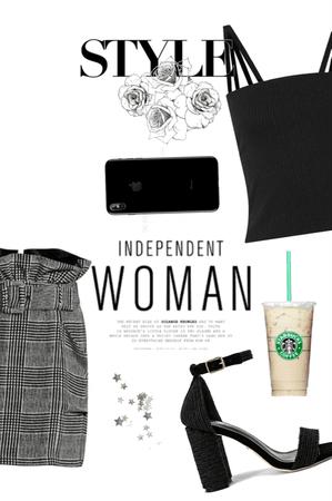 Tartan Business Woman