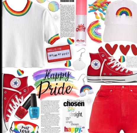 Rainbow Pride 🌈💛♥️💙