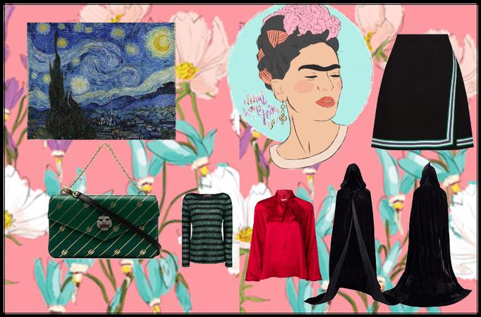 Fashion design project.