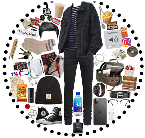 teenage boy complete every day look