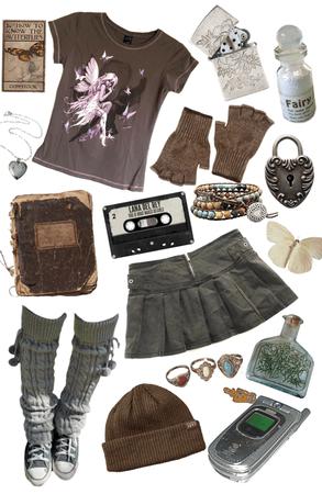 grunge fairycore